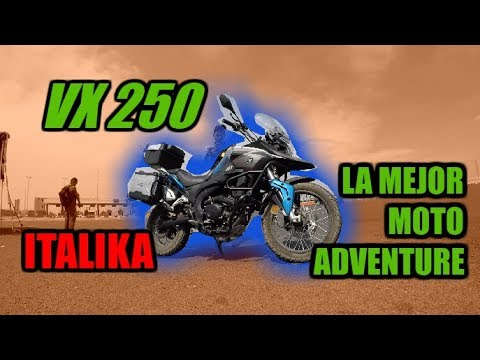 Italika VX 250 La Mejor Moto Review Completo