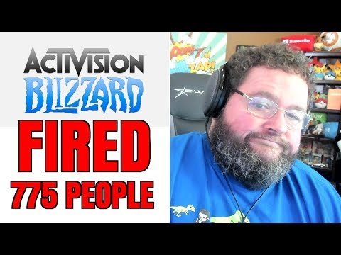 Activsion Blizzard Fired 770 People After Announcing RECORD PROFITS