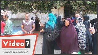 أهالى تل العقارب يعاودون التظاهر أمام الوزراء للمطالبة بتوفير وحدات سكنية