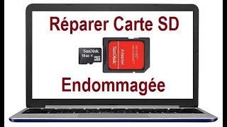 Comment réparer une Carte SD endommagée (Carte SD corrompue)
