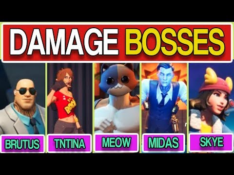 Deal Damage To Bosses FORTNITE - How To Deal Damage To Bosses In Fortnite Season 2 Chapter 2 Week 3!