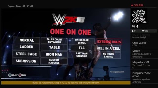WWE 2K18 | All Title Matches +  Draft Results