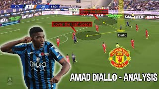 Amad Diallo | Player Analysis | The New Manchester United Signing