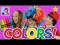 Learn Colors for Children with Johny Johny & The Five Finger Family | Kids Fun Educational Video