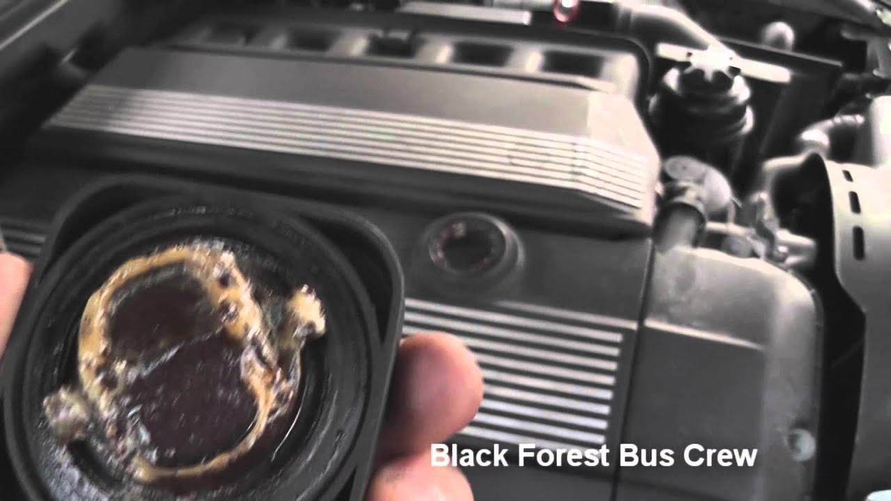 Bmw E39 523i Zylinderkopfdichtung Defekt Youtube