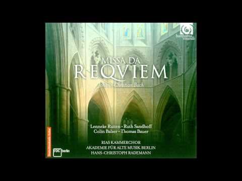J.Chr. Bach Missa da Requiem and  Miserere in B flat major