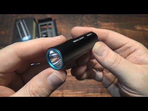 Imalent LD10 EDC Flashlight Kit Review!