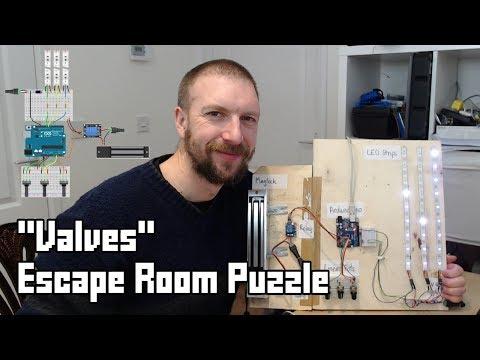 """""""Valves"""" Escape Room Puzzle"""