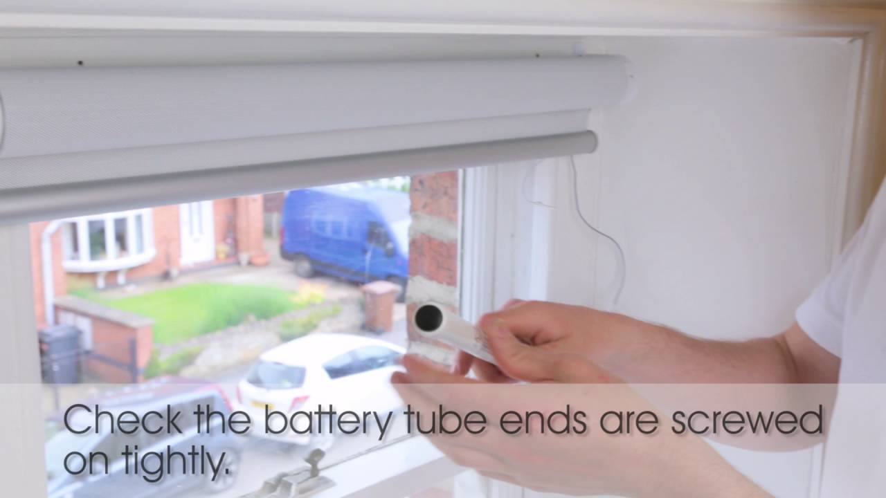 How to troubleshoot a somfy electric blind that does not for Motorized blinds not working
