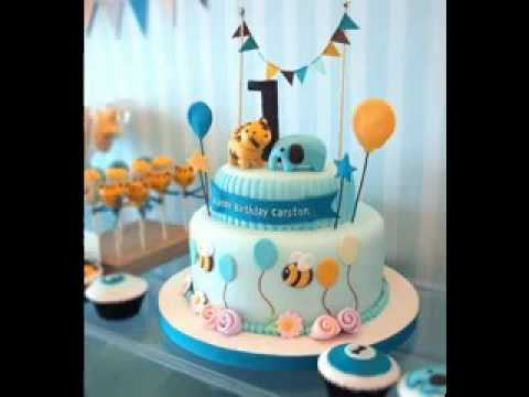 Creative 1st birthday cake design decorating ideas for boys YouTube