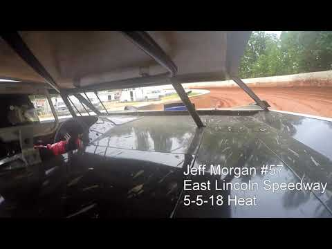 Jeff Morgan #57 East Lincoln Speedway 5-5-18 Heat