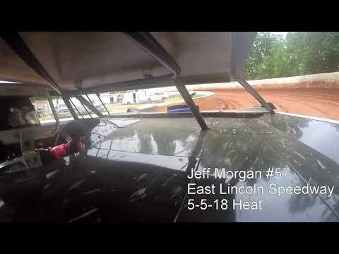Jeff Morgan #57 East Lincoln Speedway 5-5-18 Heat
