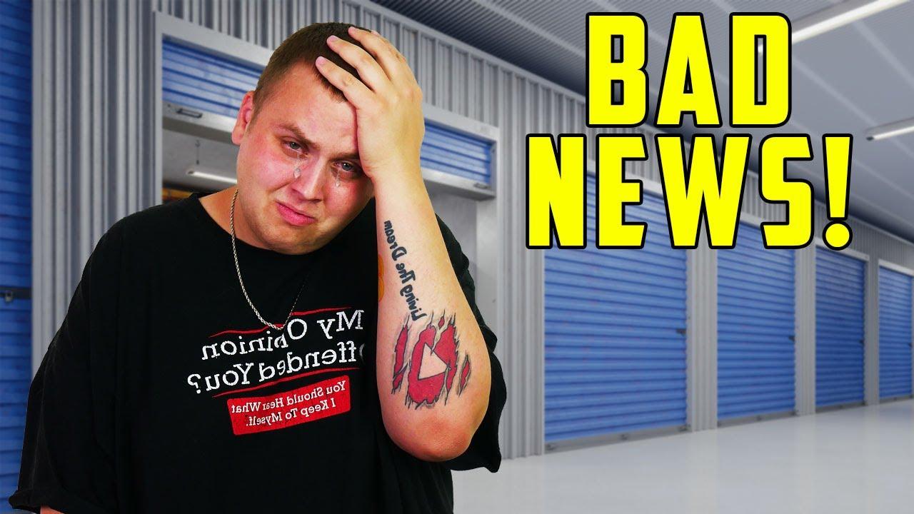 BAD NEWS About $700 Identity Thief's Storage Unit...I Feel Like Crying!