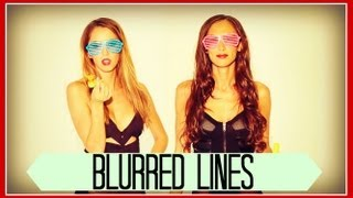 BLURRED LINES - Robin Thicke (Taryn Southern, Julia Price, Elliott Yamin, King Bach Cover)