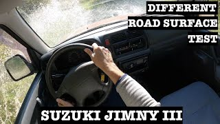 2002 Suzuki Jimny III 1.3 16V 80HP 4WD   POV Test Drive   Off Road   Slope Attempt
