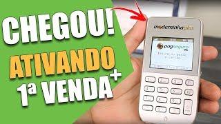 ✔️ Moderninha Plus PagSeguro CHEGOU! Passo a Passo ATIVAÇÃO e PRIMEIRA VENDA | Claudio Oliveira