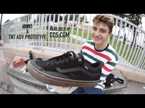 "100 Kickflps In The Vans TNT Advanced Prototype With Zach ""Ducky"" Kovacs"