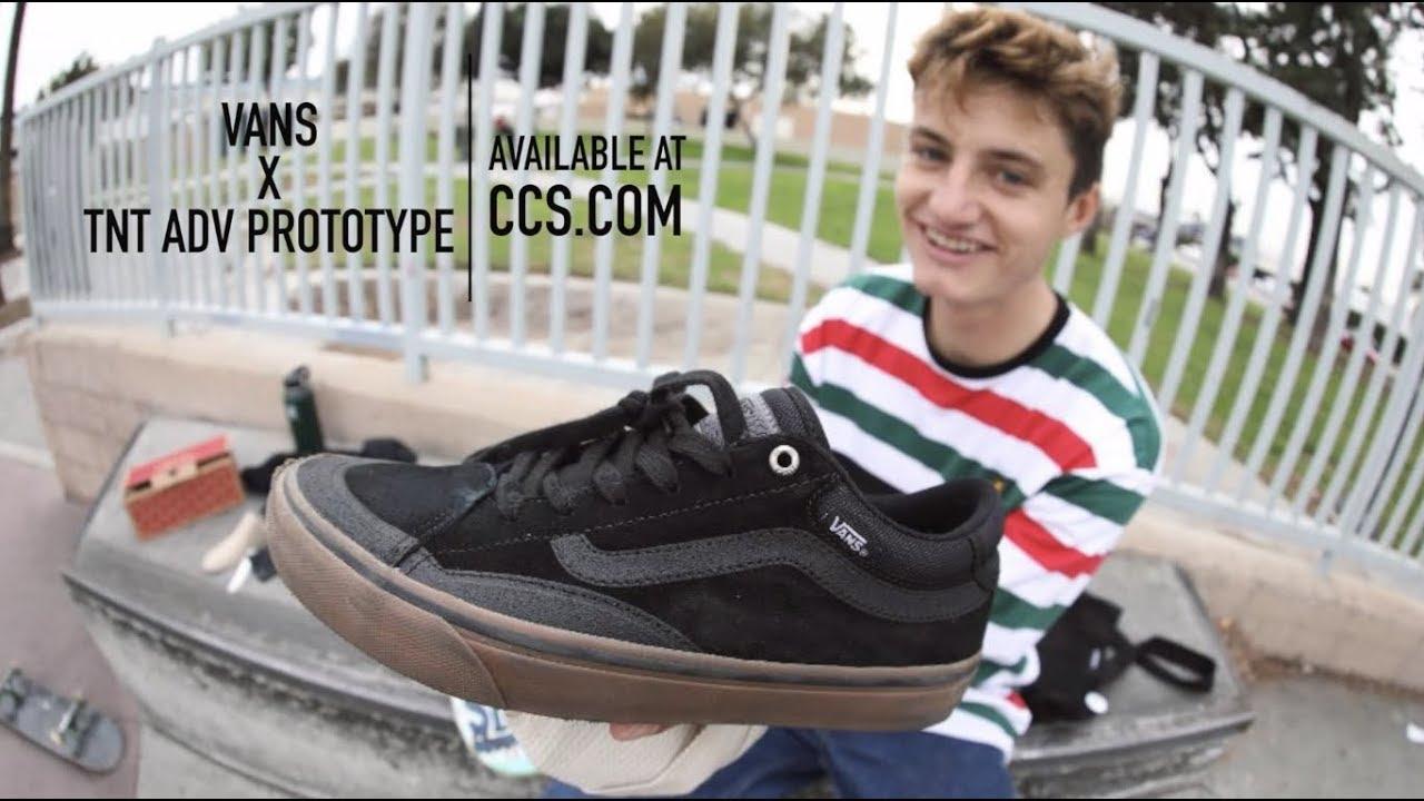 Shoe Talk: Tony Trujillo, Vans TNT
