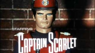 Captain Scarlet and the Mysterons (1967) tv theme: start and end credits