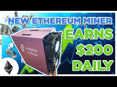 This New Ethereum Miner EARNS $200 DAILY?!