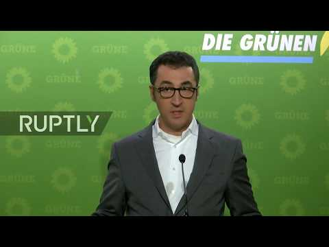 Live from Green Party press conference in Berlin after coalition talks collapse