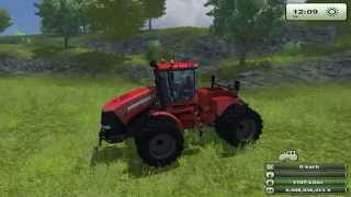 Case IH Steiger 600 drives with full speed