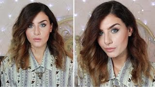 CAPELLI MOSSI Spettinati/Ondulati alla Lucy Hale! MESSY CURLS WAVES TUTORIAL (Onde morbide) Thumbnail