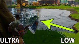 Fortnite PC Graphics Settings Comparison | Different settings Comparison
