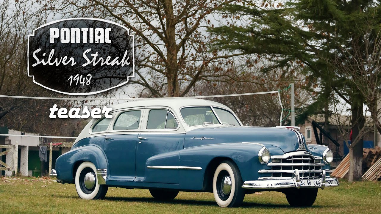 1948 Pontiac Silver Streak Fragman Youtube Streamliner