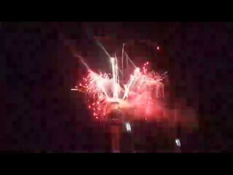 Live New Years Fireworks 2018 Auckland New Zealand