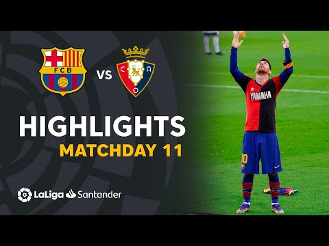 Barcelona Osasuna Goals And Highlights