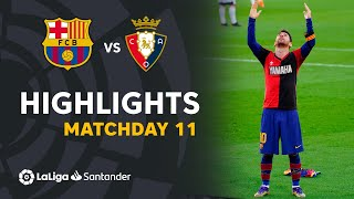 Highlights FC Barcelona vs CA Osasuna (4-0)