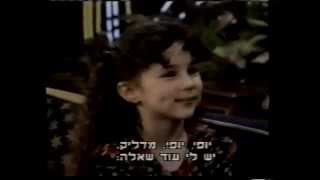 Hallie Eisenberg - VERY clever Lie Hallie Eisenberg on Jay Leno !...