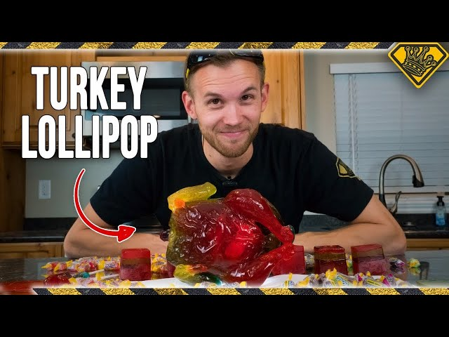 Humongous Turkey Lollipop