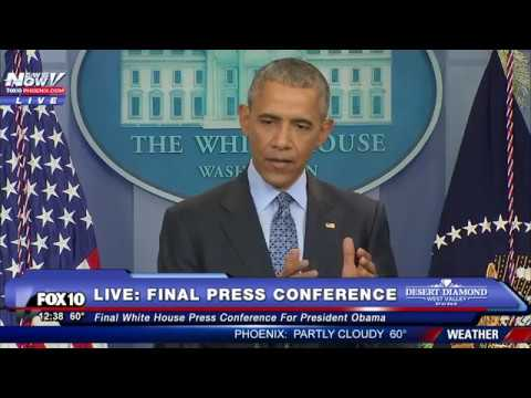 FULL VIDEO: President Obama's FINAL Press Conference at the White House – FNN