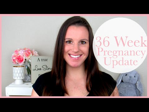 36 Week Pregnancy Update | Scary Heart Palpitations + BUMP SHOT!