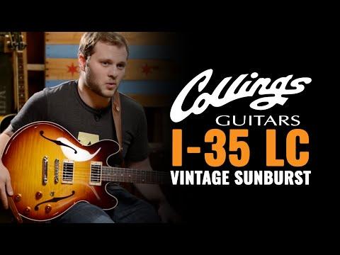 Collings I-35 LC Vintage Sunburst w/Lollar Imperials