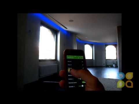 Dom tica control de la iluminaci n youtube for Control de iluminacion domotica