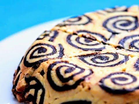 Chocolate Peanut Butter Swirl Cookie Pie