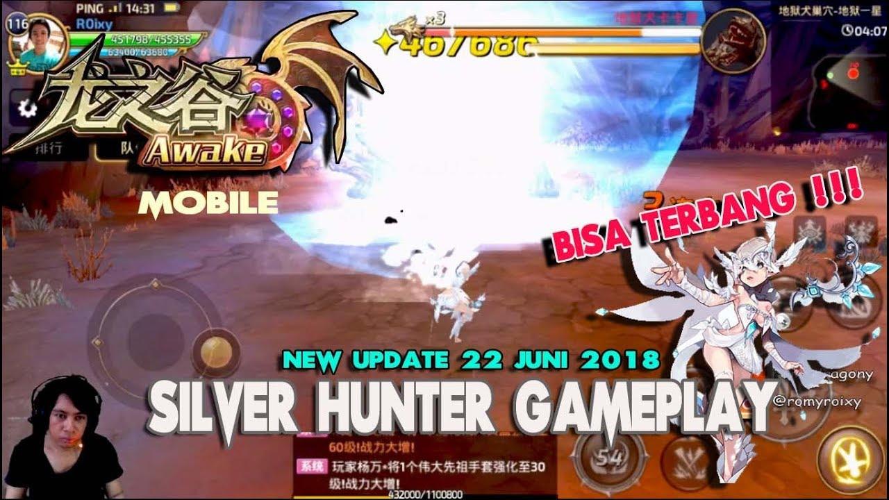Bisa Terbang !!! Silver Hunter Gameplay !!! Dragon nest Awake (China) - New  update 22 juni 2018