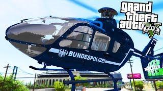 POLIZEI HELIKOPTER im EINSATZ! - GTA 5 Polizei Mod - Deutsch - LSPDFR