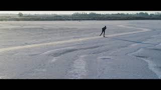 De Alde Feanen - Natural ice skating (The Netherlands)