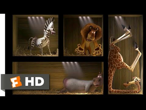 Madagascar (2005) - Shipped to Africa Scene (2/10) | Moviecl