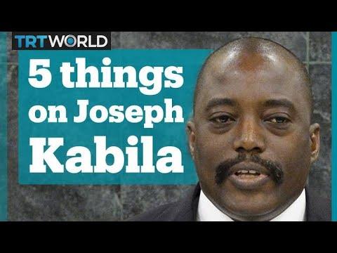 5 things about Joseph Kabila