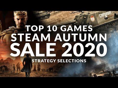 STEAM AUTUMN SALE 2020 - Top 10 Best Strategy Game Deals