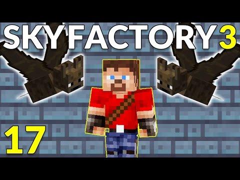Sky Factory 3 17 Ren Goes Batty!