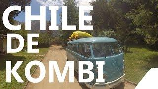 CHILE DE KOMBI | 5 amigos viajando pela América do Sul a bordo de uma Kombi 1973 (GoPro)