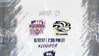 USL LIVE - Louisville City FC vs Pittsburgh Riverhounds 6/17/17 thumbnail