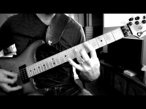 Manowar - Hail & Kill (Guitar Cover w/solo)