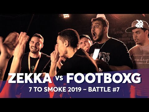 ZEKKA Vs FOOTBOXG | Grand Beatbox 7 TO SMOKE Battle 2019 | Battle 7
